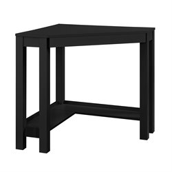 Altra Furniture Parsons Corner Desk in Black
