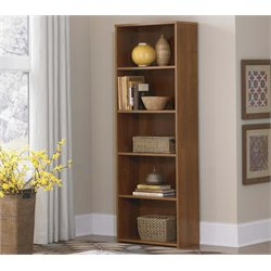 Altra 5 Shelf Bookcase in Medium Brown