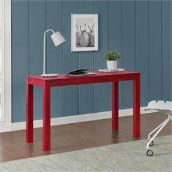 2 Drawer Writing Desk in Red