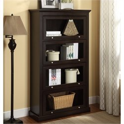 Altra Furniture Barrister Bookcase in Espresso Finish