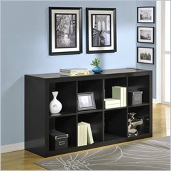 Altra Furniture 8 Cube Bookcase in Espresso Finish