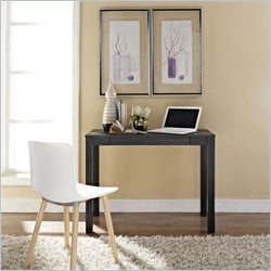 Altra Furniture Parsons Style Flip-Up Desk in Black Oak Finish