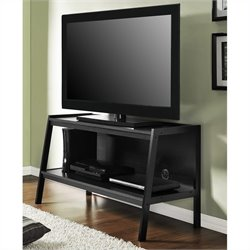 Altra Furniture Ladder TV Stand in Black Finish