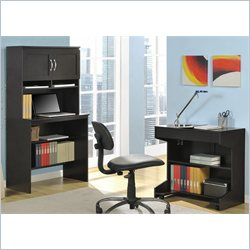 Altra Furniture Marlow Office Armoire in Espresso Finish