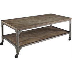 Altra Furniture Cecil Coffee Table in Rustic