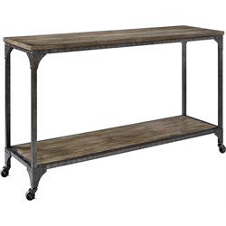 Altra Furniture Cecil Console Table in Rustic