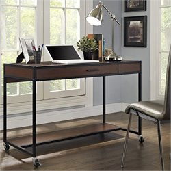 Altra Furniture Mason Ridge Mobile Desk in Cherry Finish