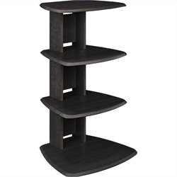 Altra Furniture Galaxy II Media Stand in Espresso Finish