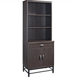 Altra Furniture The Manhattan Line Bookcase with Metal Legs