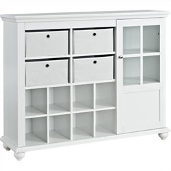 Altra Furniture Reese Park Storage Cabinet in White