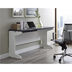 Altra Furniture Pursuit Credenza White and in Gray