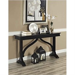 Altra Furniture Winston Wood Console Table in Black