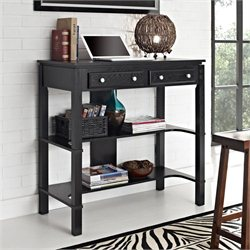Altra Furniture Standing Desk Side Table in Black