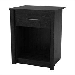 Altra Furniture Night Stand finished in Ebony Ash