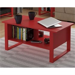 Altra Reese Coffee Table in Ruby Red