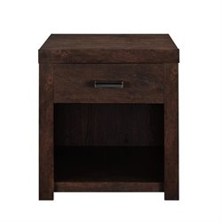 Altra Furniture Westbrook End Table in Dark Walnut