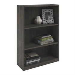 Altra Furniture Core 3-Shelf Bookcase in Rodeo Oak
