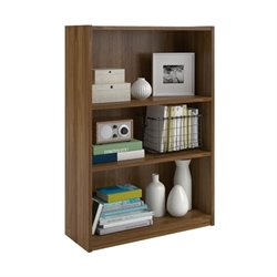 Altra Furniture Core 3-Shelf Bookcase in Bank Alder
