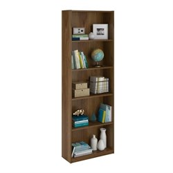 Altra Furniture Core 5-Shelf Bookcase in Bank Alder
