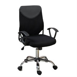 Poundex Mesh Back Two Tone Office Chair