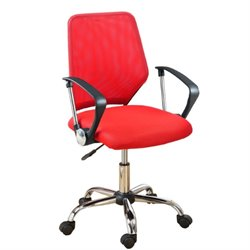 Poundex Office Chair in Red