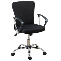 Poundex Office Chair in Black