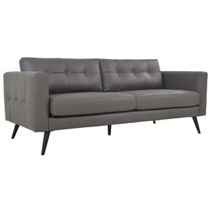 Moe's Cortado Leather Sofa