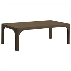Moe's Carmen Coffee Table in Brown