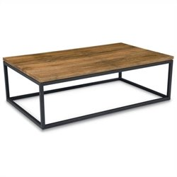 Moe's Mountain Teak Coffee Table in Natural