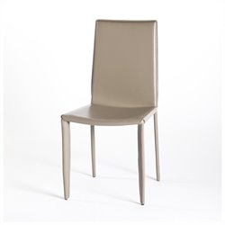 Moe's Veloce Dining Chair in Taupe