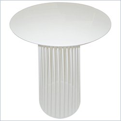 Moe's Cleo Bar Table in White