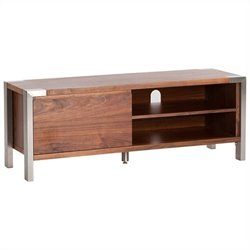 Moe's Winton TV Table in Walnut
