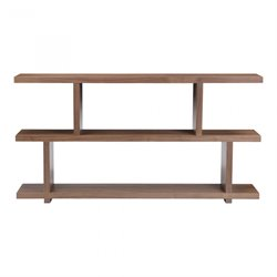 Moe's Miri Small Shelf in Walnut