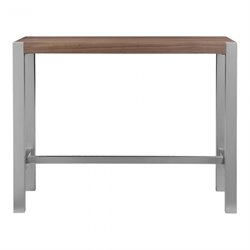 Moe's Riva Counter Table in Walnut