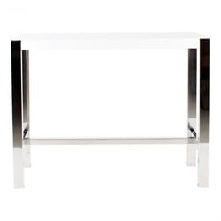 Moe's Riva Counter Table in White