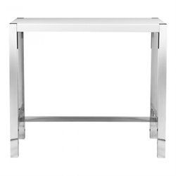 Moe's Riva Bar Table in White