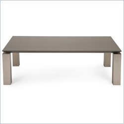 Moe's Cut Coffee Table in Gray