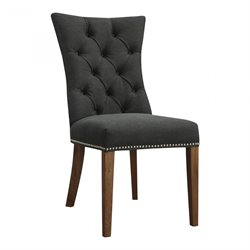 Moe's Barclay Side Chair in Black (Set of 2)