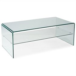 Moe's Sono Coffee Table in Clear