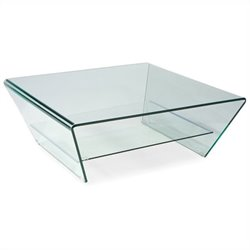Moe's Tocca Coffee Table in Clear