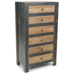 Moe's Bolt 6 Drawer Dresser in Natural
