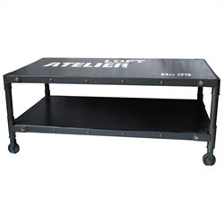 Moe's Soho Coffee Table in Black