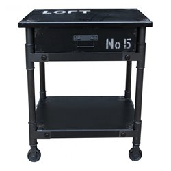 Moe's Soho Cabinet in Black