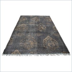 Moe's Fringe Rug in Brown