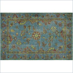 Moe's Stitch Rug in Green
