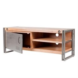 Moe's Brooklyn Small TV Table in Dark Brown