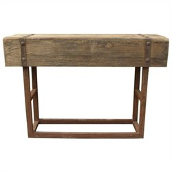 Moe's Orso Bar Height Table in Natural