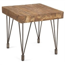 Moe's Boneta End Table in Natural