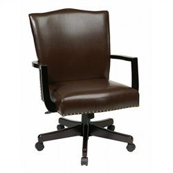 INSPIRED by Bassett Morgan Manager's Chair In Espresso Finish