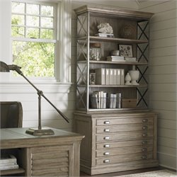 Sligh Barton Creek Johnson File Chest and Hutch Set